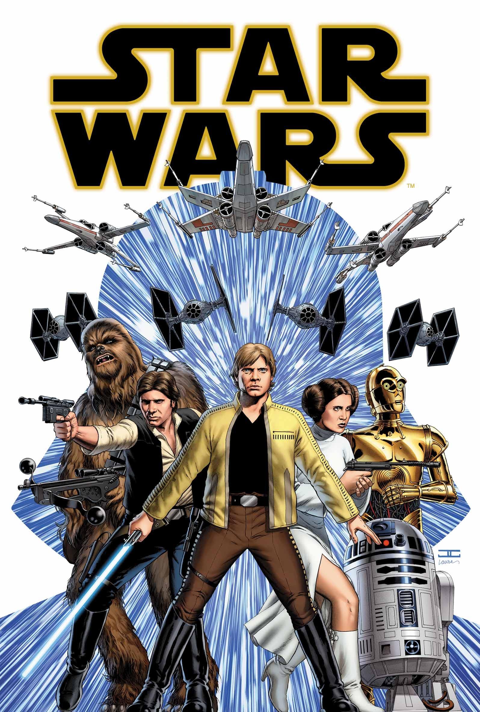 Star Wars #1 Main Cover.