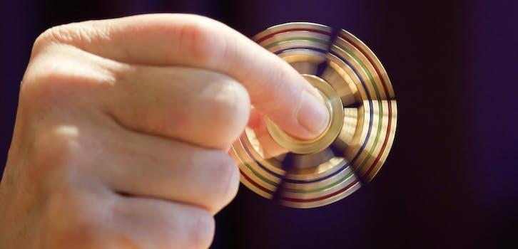 fidget spinner tips