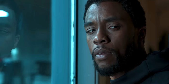 T'Challa from Black Panther.