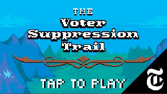 voter suppression trail