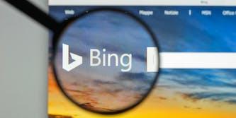 microsoft bing search engine