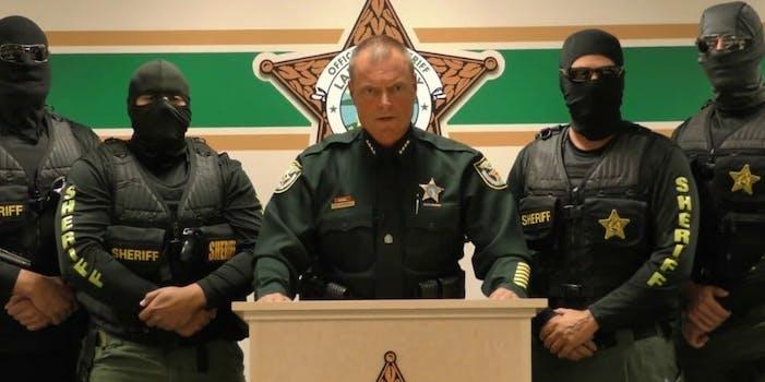 Lake County sheriff Peyton Grinnell anti-heroin PSA