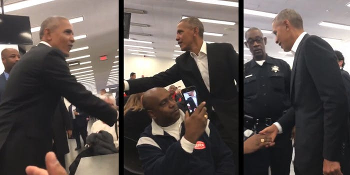 President Barack Obama was summoned for jury duty on Wednesday, but was ultimately not picked.