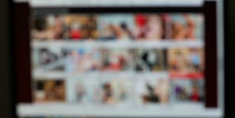 porn blurred webcam
