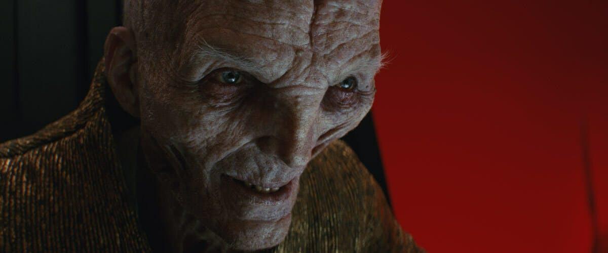 snoke close-up