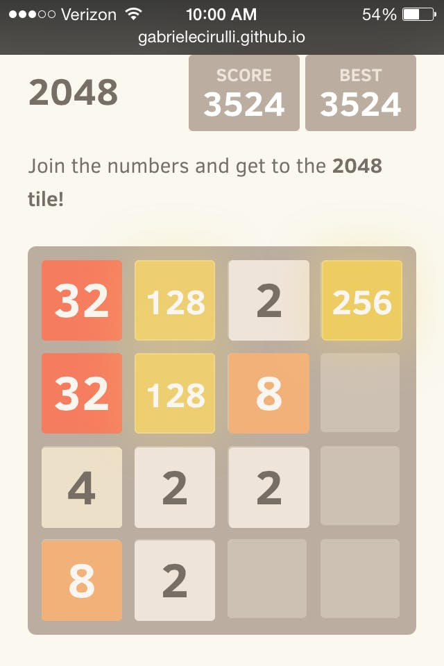 how to beat the 2048 game