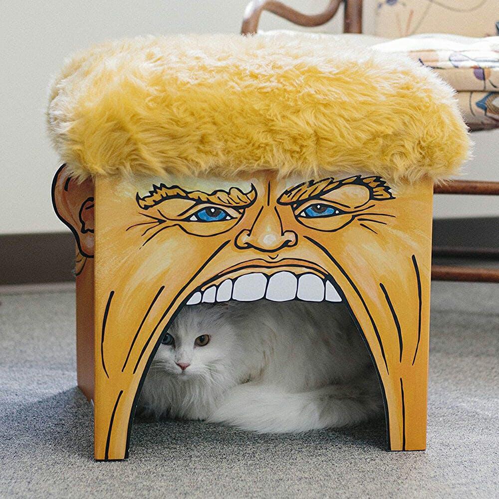 donald trump cat playhouse toy