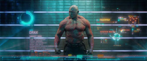 Photo of Drax from Guardians of the Galaxy
