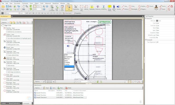 best free pdf editor : PDF-XChange Editor