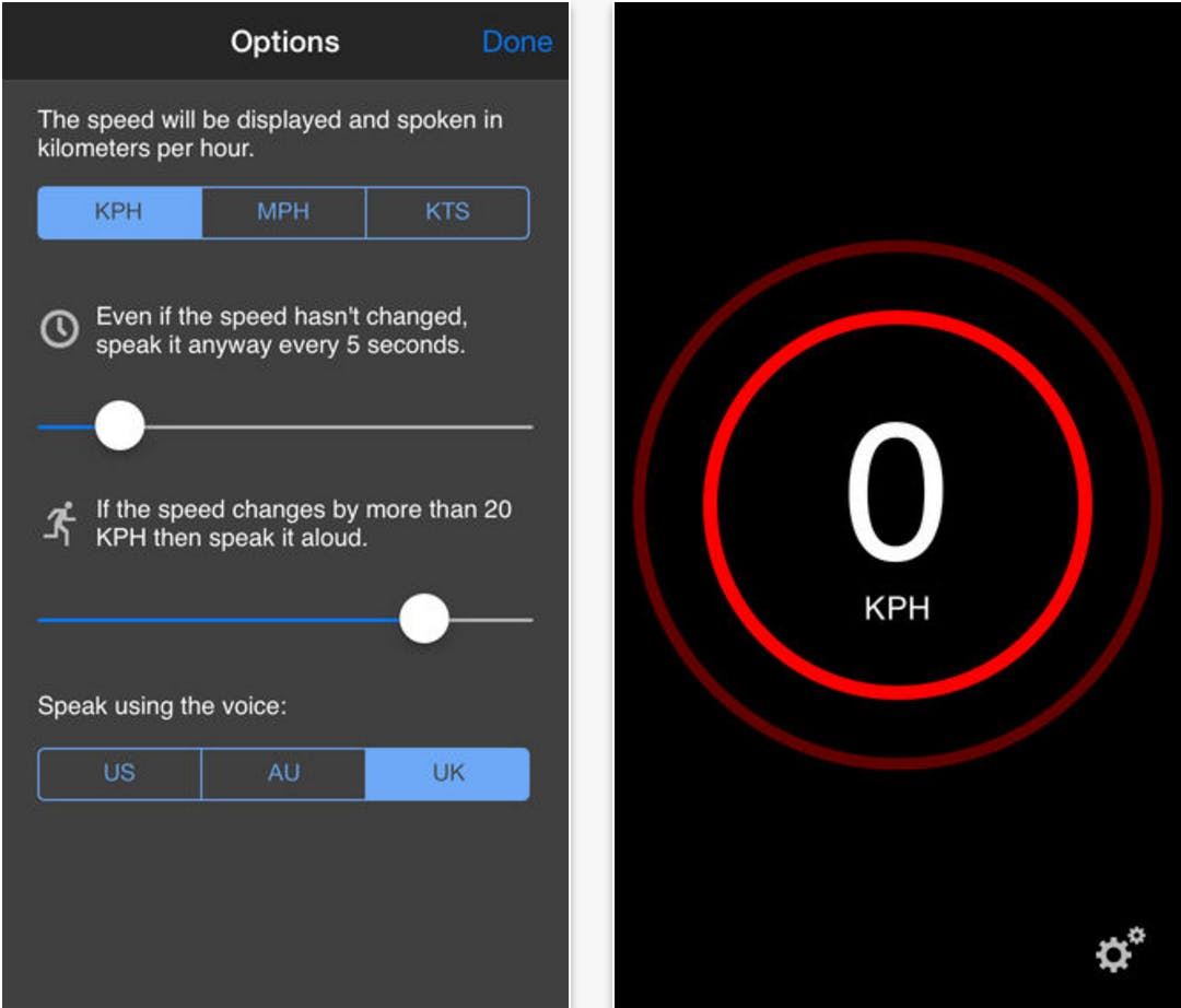 bike speedometer app