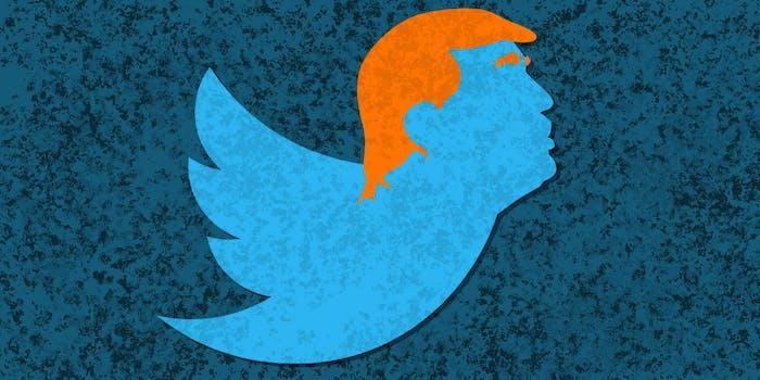 Donald Trump Twitter bird