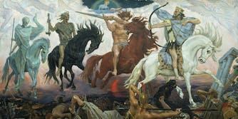 good omens horsemen apocalypse