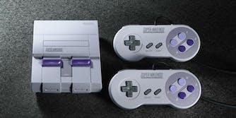 Super NES console