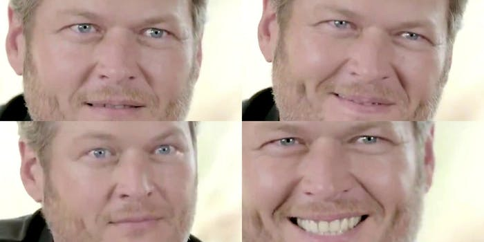 Blake Shelton is 'People's 'Sexiest Man Alive' for some reason