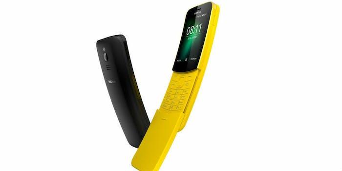 nokia 8110 banana matrix phone