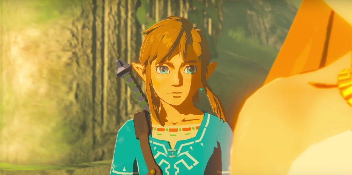 best video games 2017 : Legend of Zelda