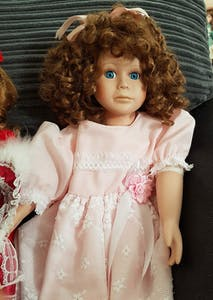 haunted doll creepy spooky collecting halloween