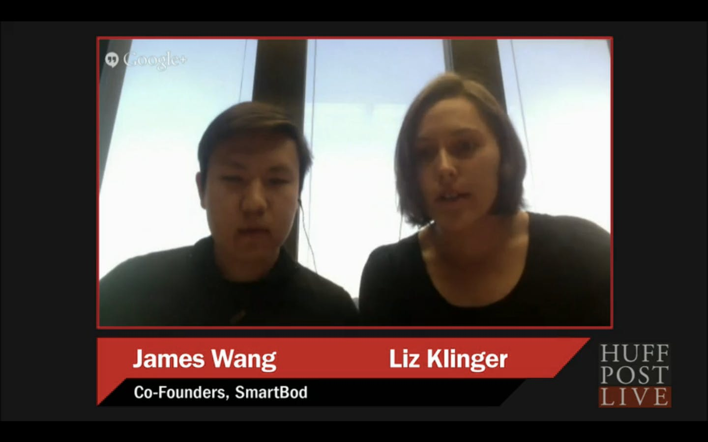 The cofounders talk shop on HuffPost Live.