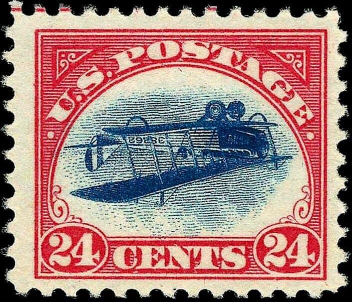 inverted jenny stamp