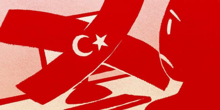Turkish Censorship Illustration