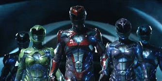 Mighty Morphin Power Rangers 2017