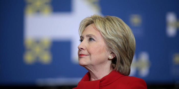 Hillary Clinton's deal with the DNC was only for the general election.