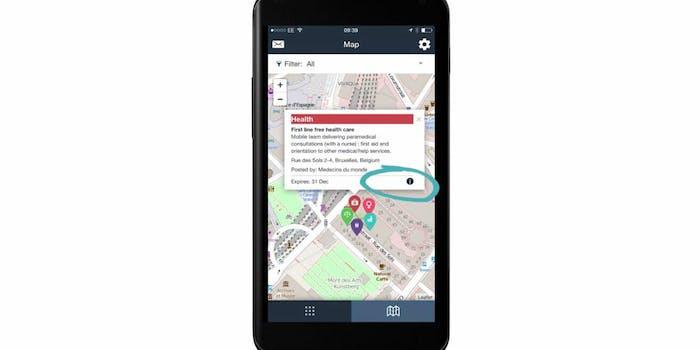 smartphone humanitarian aid