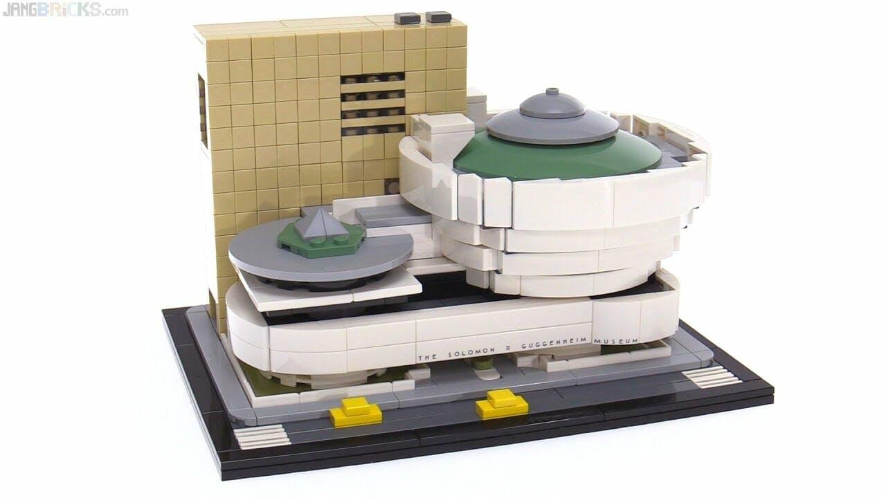 lego sets 2017 : Solomon R. Guggenheim Museum