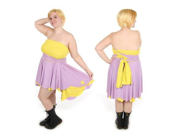 Lumpy Space Princess Adventure Time dress by Little Petal.