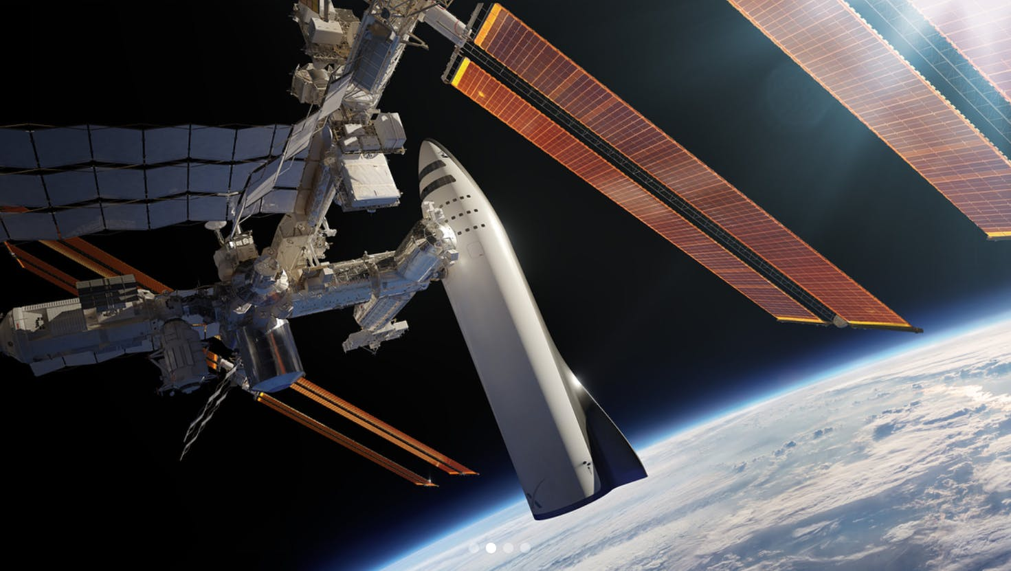 spacex bfr service iss