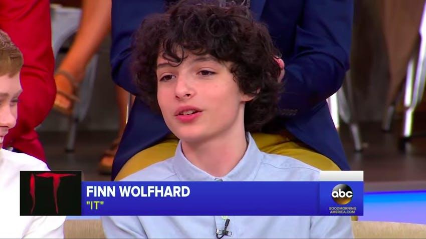it cast : finn wolfhard