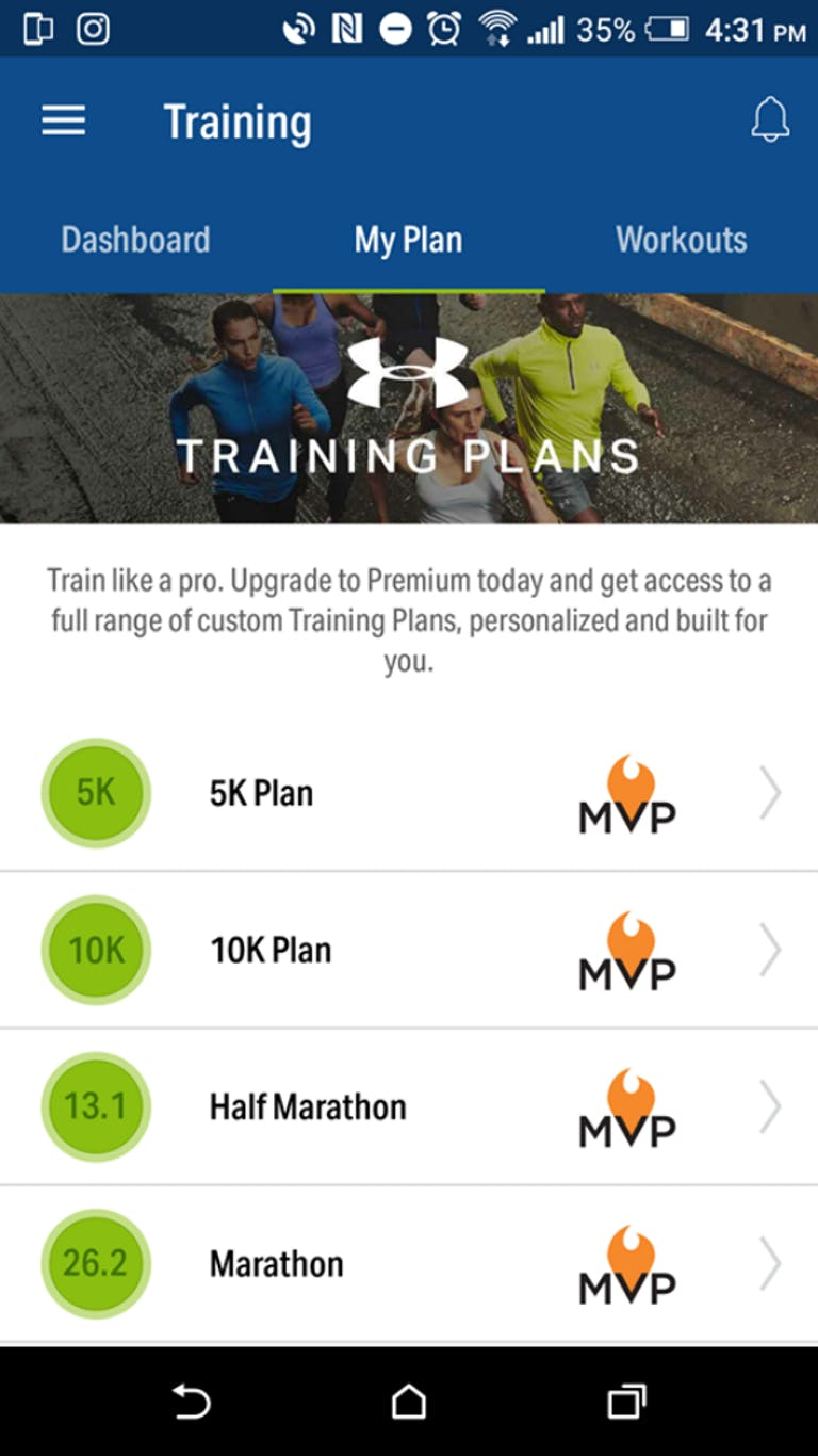 free workout apps : Map my fitness
