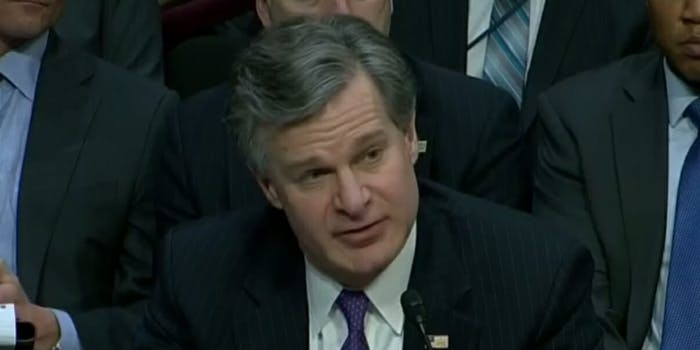 The FBI's newly-appointed Director Christopher Wray said on Tuesday the Trump administration should have known months ago that Rob Porter, the White House staff secretary who resigned last week after allegations of domestic abuse surfaced, about the background check they performed on him.