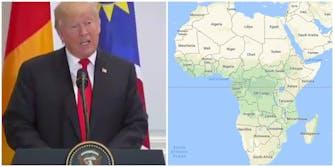 Trump Says Nambia at UN