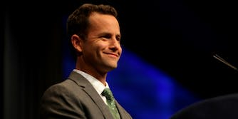 Kirk Cameron speaking at the 2012 CPAC in Washington, D.C.