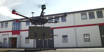drone beer hamburger delivery reykjavic iceland