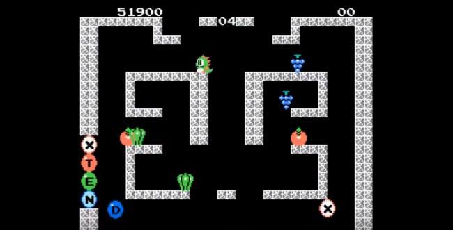 nes games: Bubble Bobble