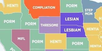 Pornhub search misspellings