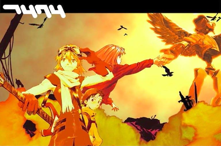 best anime theme songs : FLCL
