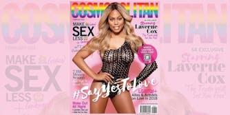 Laverne Cox Cosmopolitan cover