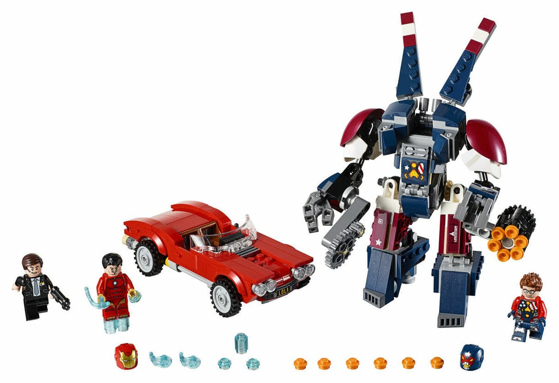 marvel lego sets : Iron Man: Detroit Steel Strikes