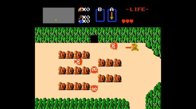 nes games: The Legend of Zelda