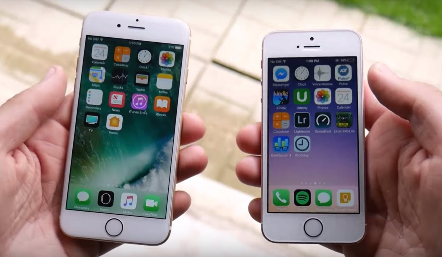 cheap smartphones : iphone 6 vs iphone se