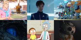 Dream Daddy, Star Trek: Discovery, Voltron, Game of Thrones, Rick and Morty, and BB-8 from Star Wars