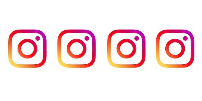 Instagram mobile website