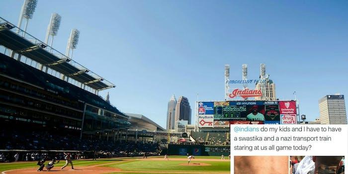 Cleveland Indians Nazi tattoos