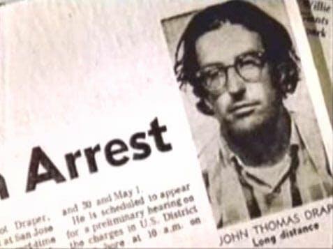 Captain Crunch arrest
