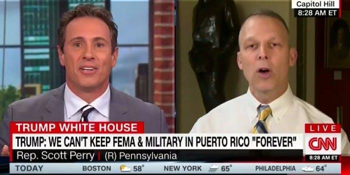 Scott Perry Puerto Rico