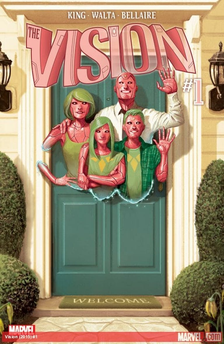 comic books for adults : vision
