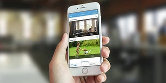 blink home video security camera